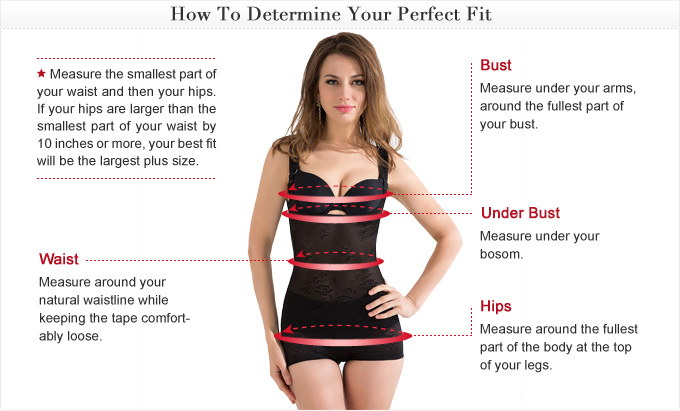 Swimwear Measuring Guide